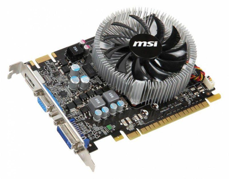 Видеокарта MSI GeForce GTS 450,  1Гб, DDR3, oem [n450gts-md1gd3]