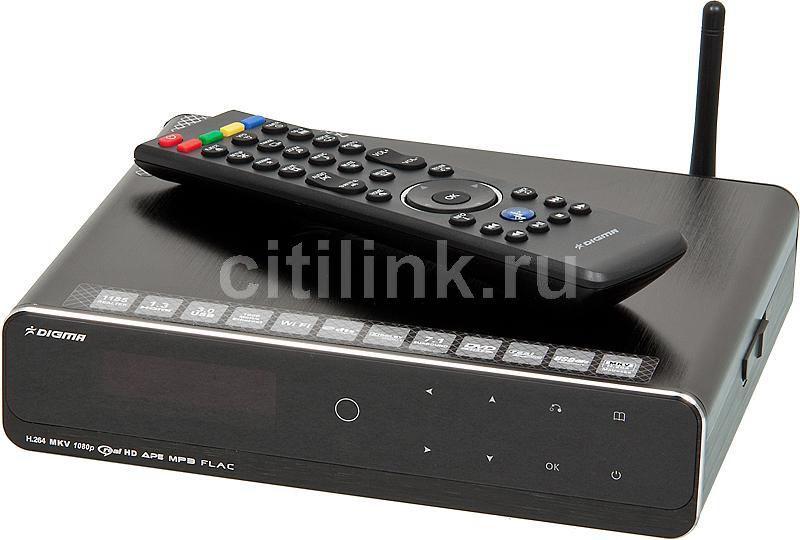 Медиаплеер DIGMA HDMP-551,  черный