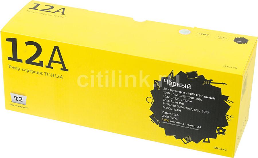 Картридж T2 TC-H12A черный [q2612a]