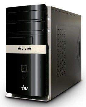 IRU Home 310,  Intel  Pentium  E6700,  DDR3 2Гб, 500Гб,  ATI Radeon HD 5450 - 512 Мб,  DVD-RW,  noOS,  черный