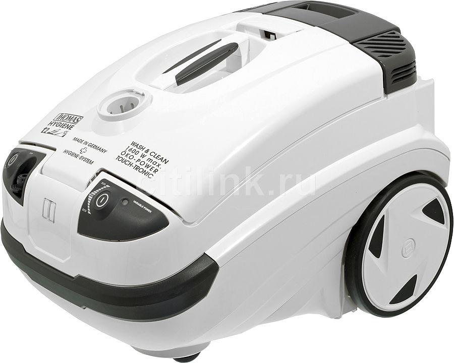 Моющий пылесос THOMAS Twin T2 Hygiene, 1600Вт, белый/серый