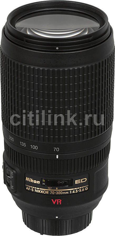Объектив NIKON 70-300mm f/4.5-5.6 AF-S VR IF-ED, Nikon F [jaa795da] free shipping new and original for niko lens af s nikkor 70 200mm f 2 8g ed vr 70 200 protector ring unit 1c999 172