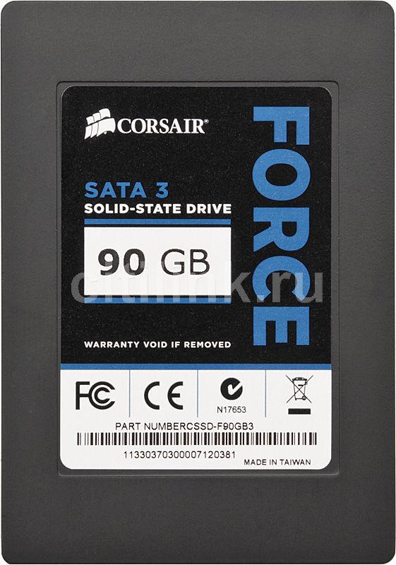 Накопитель SSD CORSAIR Force 3 CSSD-F90GB3-BK 90Гб, 2.5