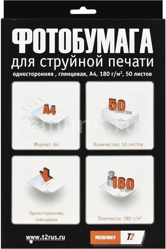Бумага T2 PP-104 А4 180 г/м2 50 л глянцевая