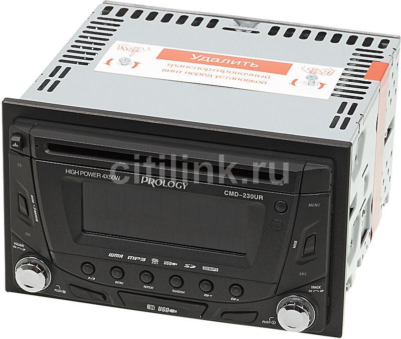 Автомагнитола PROLOGY CMD-230UR,  USB,  SD