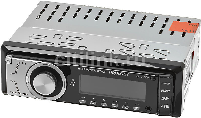 Автомагнитола PROLOGY CMU-500, USB, SD автомагнитола prology cmu 520 usb sd