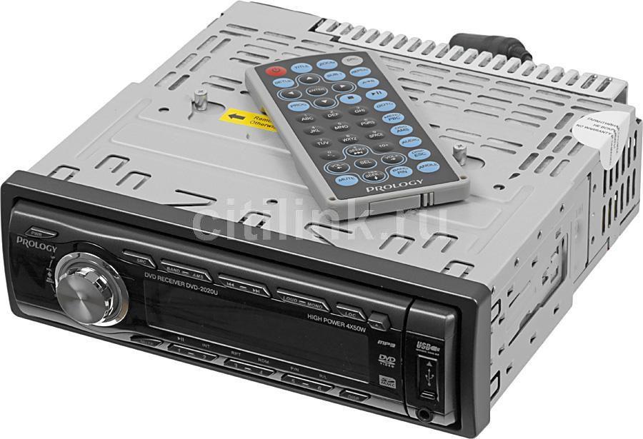 Автомагнитола PROLOGY DVD-2020U,  USB,  SD