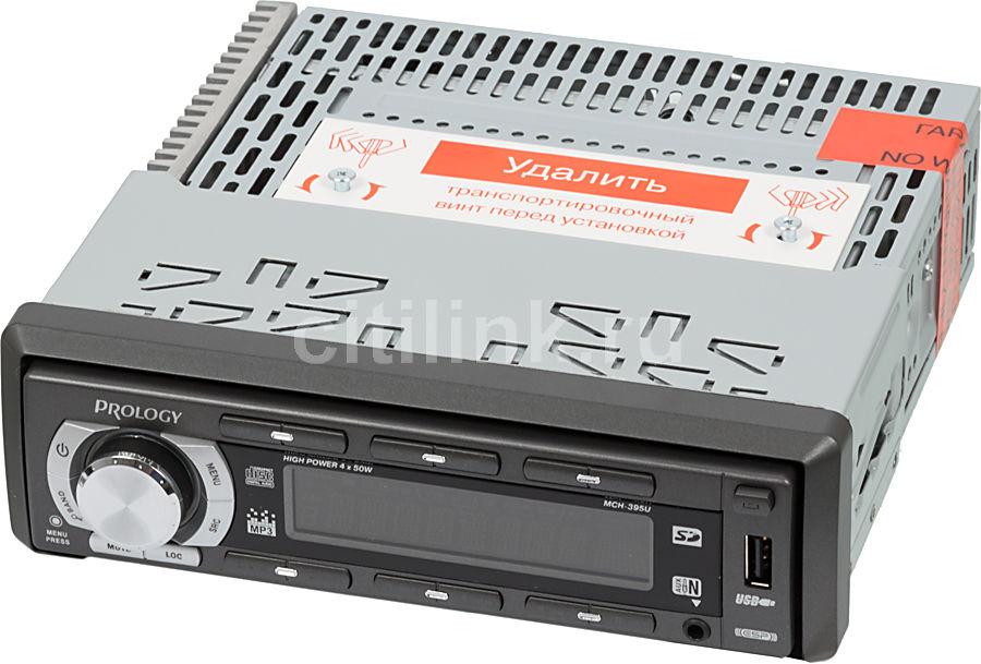 Автомагнитола PROLOGY MCH-395U,  USB,  SD