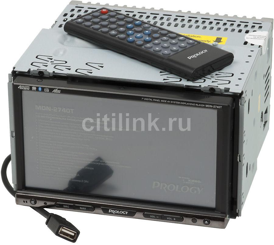 Автомагнитола PROLOGY MDN-2740T BG,  USB,  SD