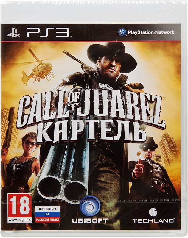 Игра SONY Call of Juarez: Картель Limited Edition для  PlayStation3 Rus