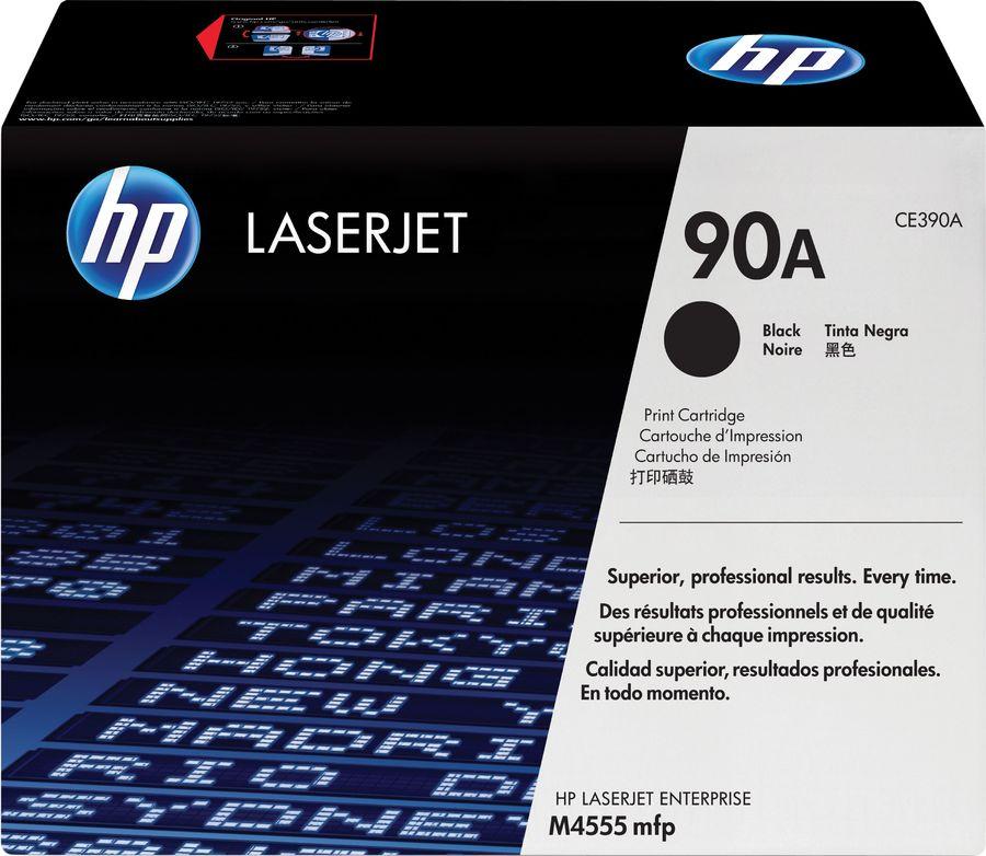 Картридж HP CE390A черный
