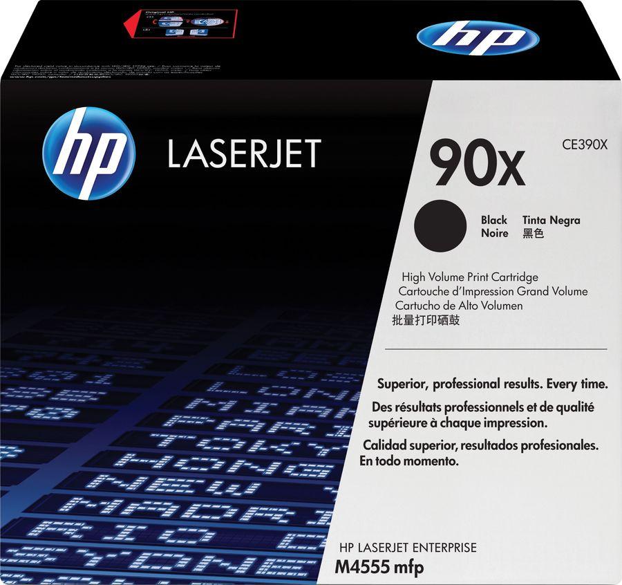 Картридж HP 90X черный [ce390x]