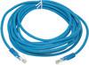Патч-корд  литой (molded), cat.5E, 5м, 1 шт,  синий вид 1