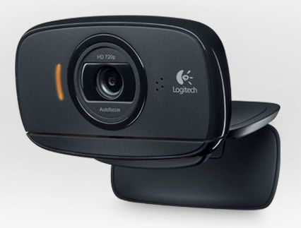 Web-камера LOGITECH HD Webcam C525, черный [960-001064] web камера logitech hd webcam c310