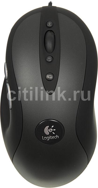 Мышь LOGITECH G400, игровая, оптическая, проводная, USB, черный [910-002278]
