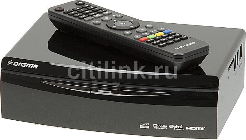 Медиаплеер DIGMA HDMP-510,  черный