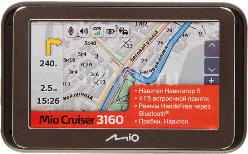 GPS навигатор MIO Mio Cruiser 3160,  4.3