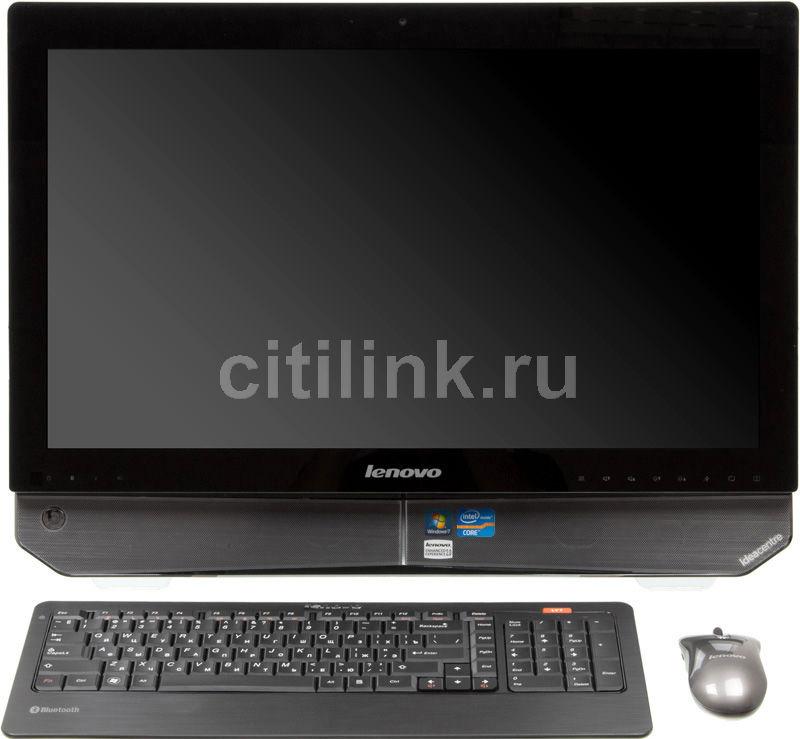 Моноблок LENOVO IdeaCentre B520, Intel Core i7 2600, 8Гб, 2Тб, nVIDIA GeForce GT555M - 2048 Мб, DVD-RW, Windows 7 Home Premium, черный [57300966]