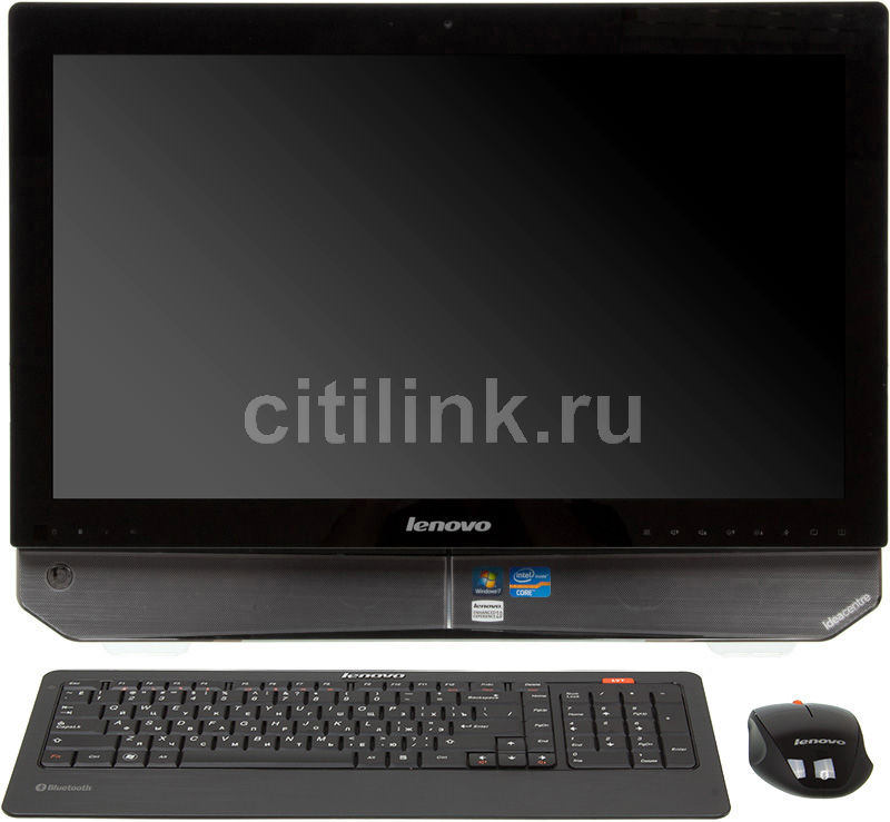 Моноблок LENOVO IdeaCentre B520, Intel Core i5 2300, 4Гб, 2Тб, nVIDIA GeForce GT555M - 2048 Мб, DVD-RW, Windows 7 Home Premium, черный [57300765]