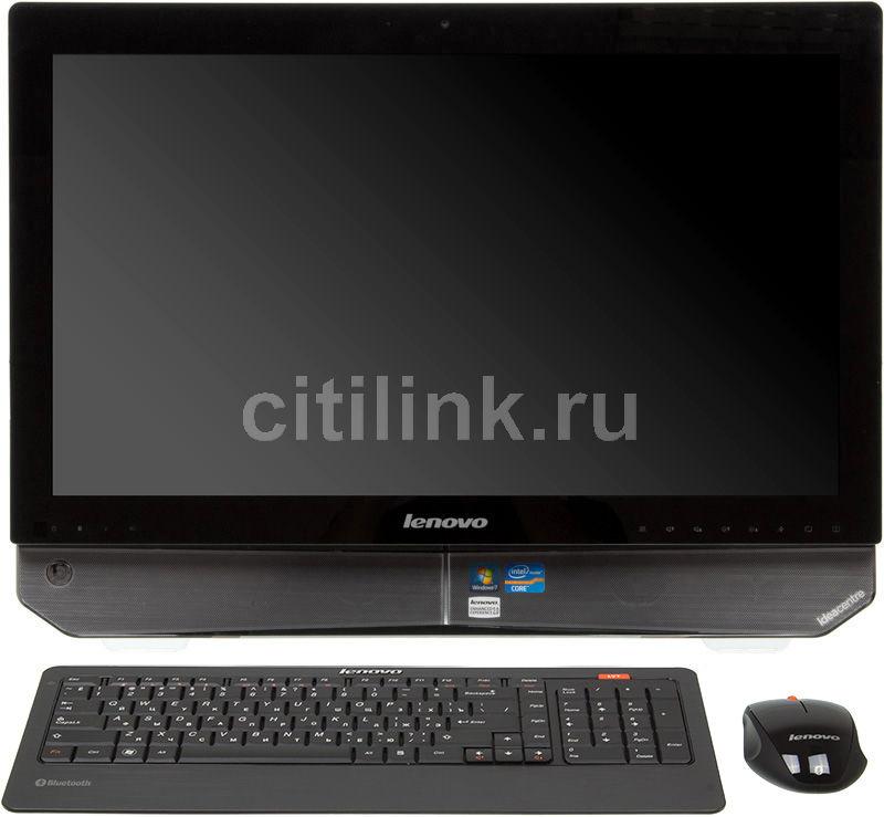 Моноблок LENOVO IdeaCentre B520, Intel Core i3 2100, 4Гб, 500Гб, nVIDIA GeForce GT555M - 2048 Мб, DVD-RW, Windows 7 Home Premium, черный [57131034]