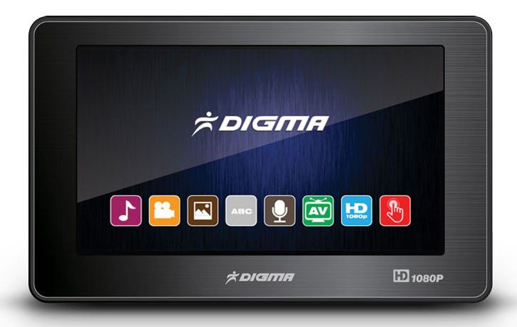 MP3 плеер DIGMA D4 flash 4Гб черный [digma d4 4gb bl]