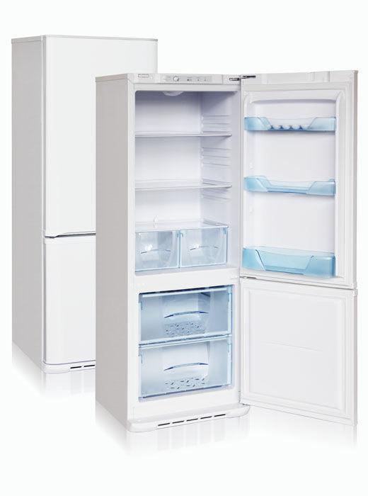Холодильник БИРЮСА Б-134,  двухкамерный, белый