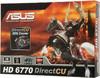 Видеокарта ASUS Radeon HD 6770,  1Гб, GDDR5, Ret [eah6770 dc/g/2di/1gd5] вид 8