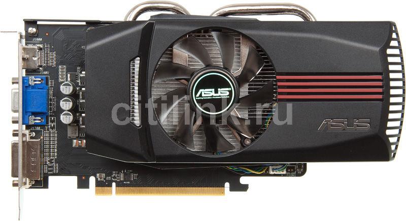 Видеокарта ASUS Radeon HD 6770,  1Гб, GDDR5, Ret [eah6770 dc/g/2di/1gd5]