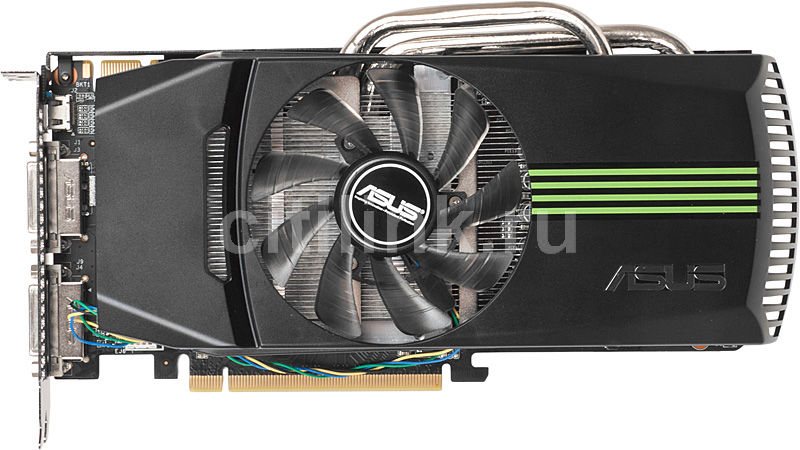 Видеокарта ASUS GeForce GTX 560Ti,  1Гб, GDDR5, Ret [engtx560 ti dc/2di/1gd5]