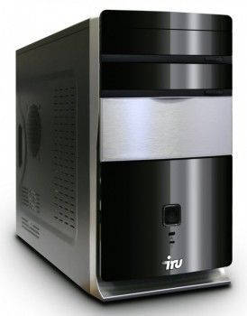 IRU Corp 310,  Intel  Pentium  E5700,  DDR3 2Гб, 320Гб,  Intel GMA X4500,  DVD-RW,  Windows 7 Professional,  черный
