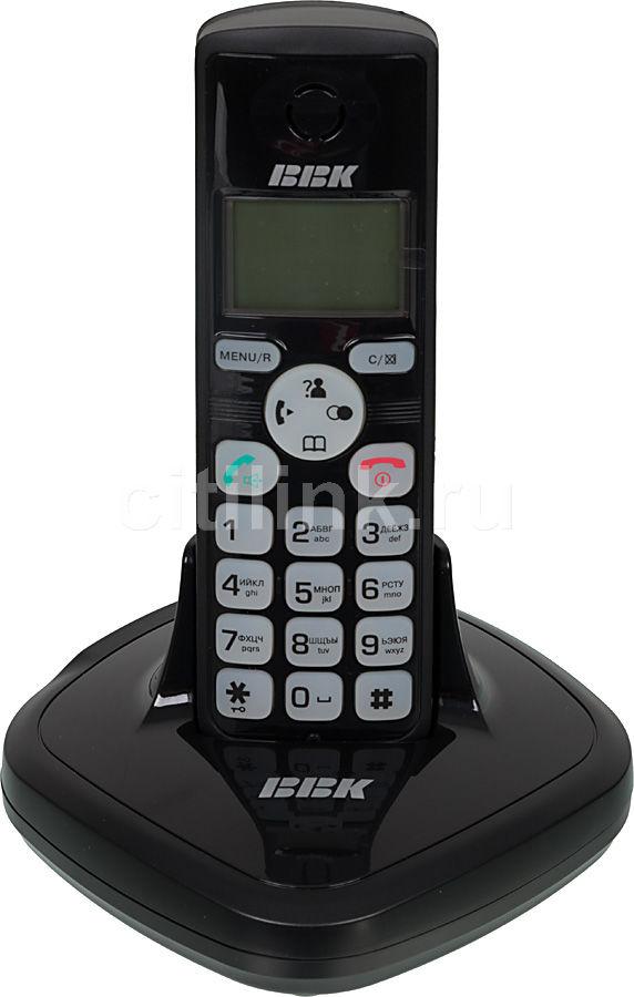 Радиотелефон BBK BKD-814RU,  черный [bkd-814 ru b]