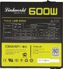 Блок питания LINKWORLD LW8-600W,  600Вт,  135мм,  черный, retail вид 4