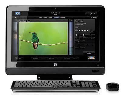 Моноблок HP Omni 200-5402ru, Intel Core i5 650, 4Гб, 1000Гб, nVIDIA GeForce 210 - 512 Мб, DVD-RW, Windows 7 Home Premium, черный [ln521ea]