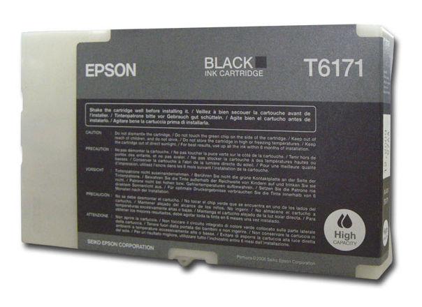 Картридж EPSON C13T617100 черный