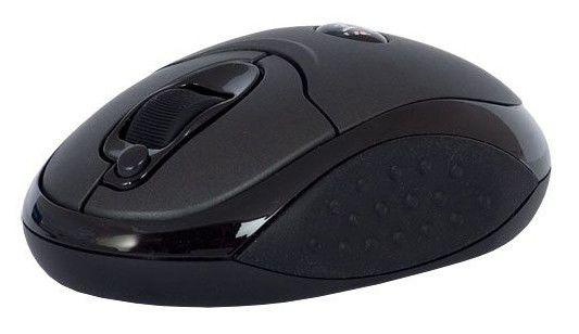 Мышь A4 V-Track G9-200F оптическая беспроводная USB, черный