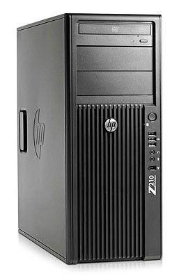 Компьютер  HP Z210,  Intel  Core i7  2600,  DDR3 4Гб, 500Гб,  Intel HD Graphics 2000,  DVD-RW,  CR,  Windows 7 Professional,  черный [kk786ea]