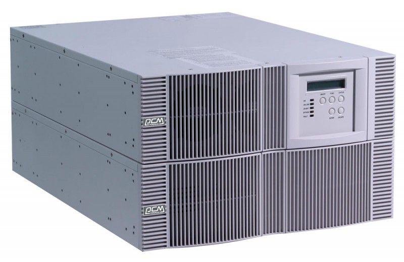 Источник бесперебойного питания POWERCOM Vanguard VGD-12K RM, (батарейный блок 97721 выписывается отдельно),  12000ВA [vrm-12ka-8w0-0014n]