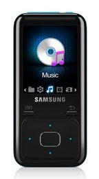 MP3 плеер SAMSUNG YP-Z3CL flash 8Гб голубой [yp-z3cl/xer]