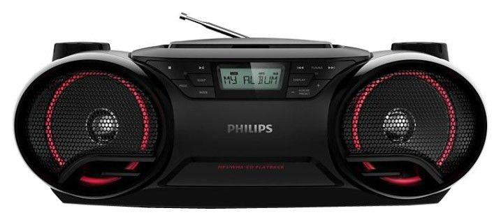Аудиомагнитола PHILIPS AZ-3831/51,  черный