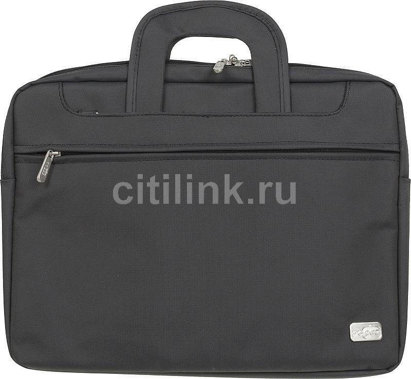 "Сумка для ноутбука 17"" PC PET PCP-Z9117N, черный"