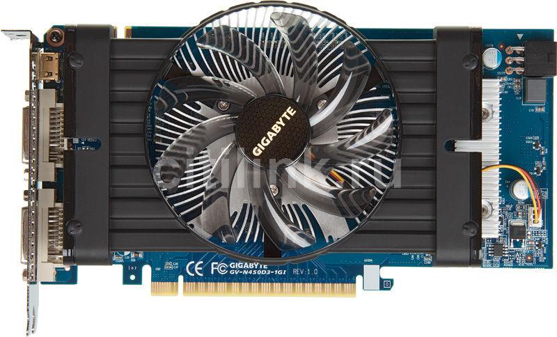 Видеокарта GIGABYTE GeForce GTS 450,  1Гб, DDR3, Ret [gv-n450d3-1gi]