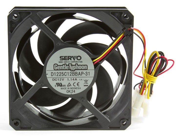 Вентилятор SCYTHE GentleTyphoon D1225C12BBAP-31,  120мм, Ret