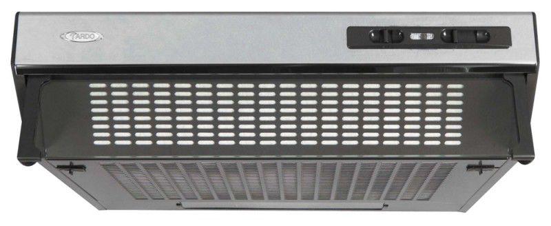Вытяжка козырьковая Ardo Basic F50 нержавеющая сталь управление: ползунковое (1 мотор) [f50in]