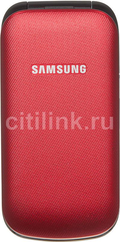 Мобильный телефон SAMSUNG GT-E1195  красный