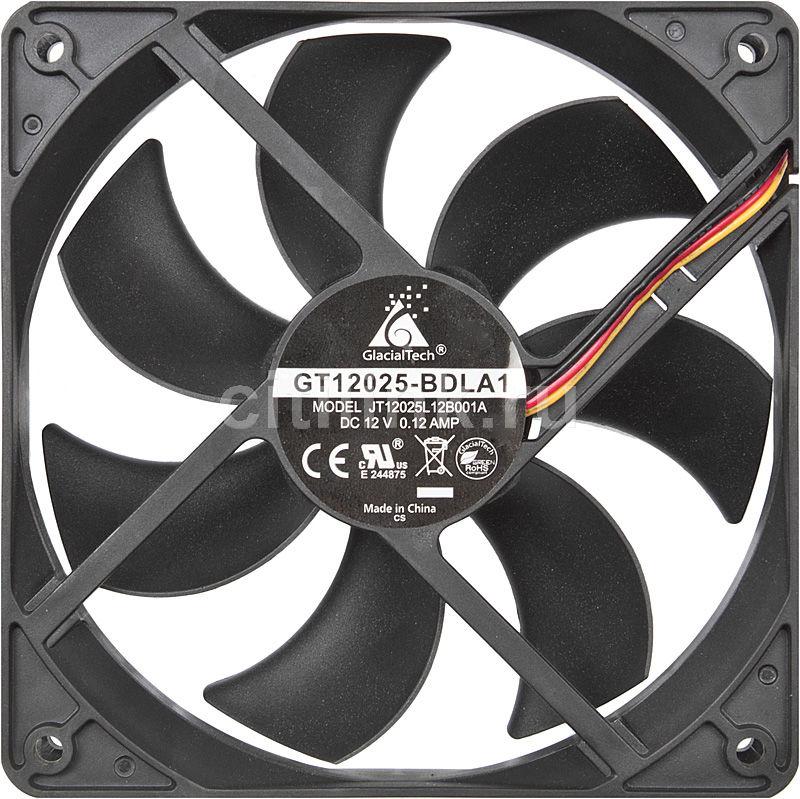 Вентилятор GLACIALTECH GT-12025-BDLA1,  120мм, Bulk