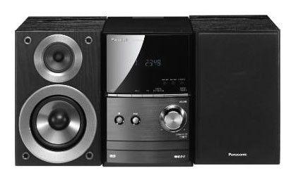 Музыкальный центр PANASONIC SC-PM500EP-K,  черный