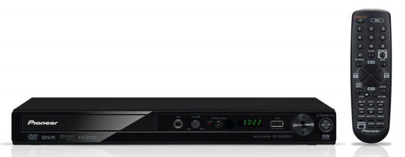DVD-плеер PIONEER DV-3022KV,  черный