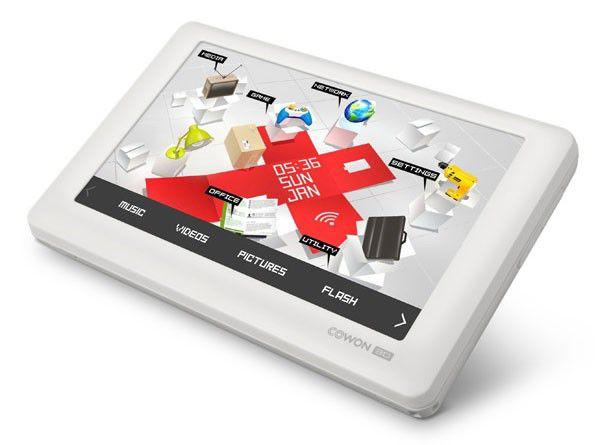 MP3 плеер COWON 3D flash 64Гб белый