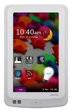 MP3 плеер COWON X7 hdd 160Гб белый