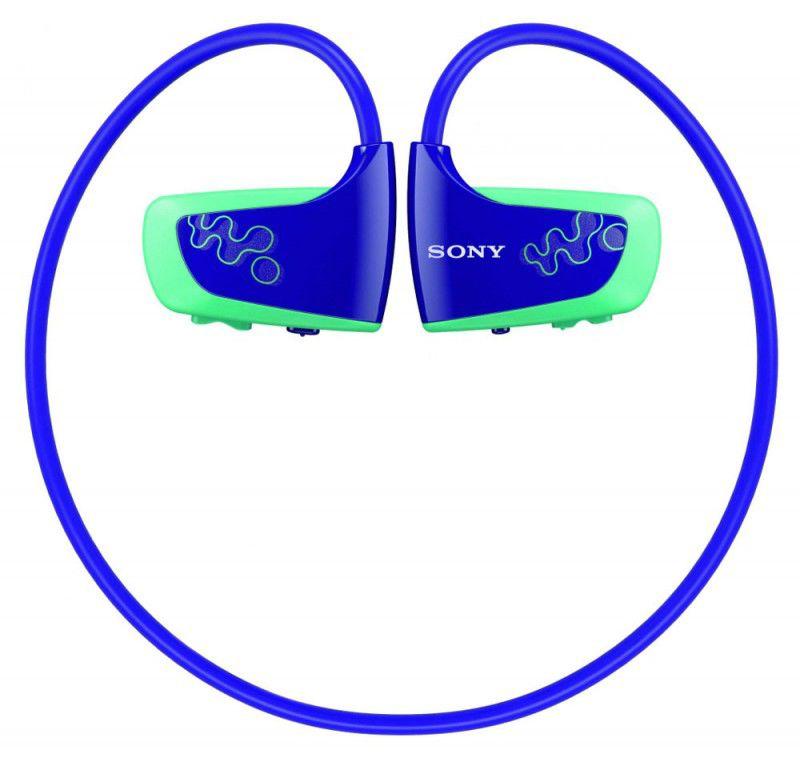 MP3 плеер SONY NWZW262L flash 2Гб синий [nwzw262l.cev]